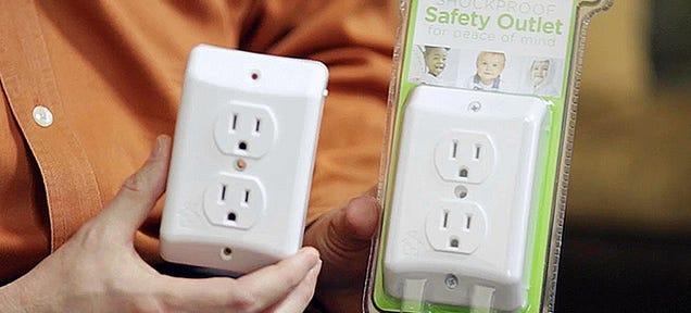 Touch-Sensitive Outlet Shuts
