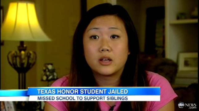 Texas Honor Student Jailed for Truancy Will Have Conviction Erased from Record