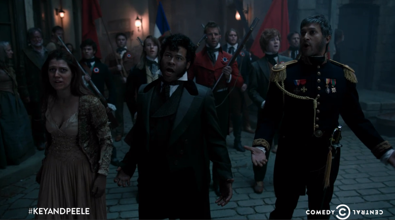 This Key & Peele Les Mis Parody Is the Funniest Thing Ever