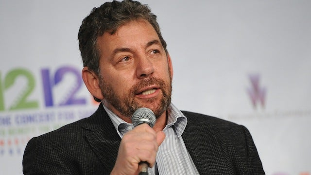 James Dolan Spent Friday Night Spying On Carmelo Anthony