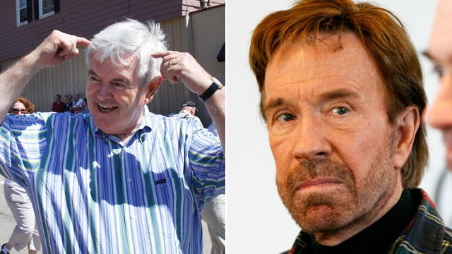 It's Over: Chuck Norris Has Endorsed Newt Gingrich