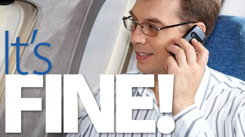 Cell Phones Don't Crash Airplanes