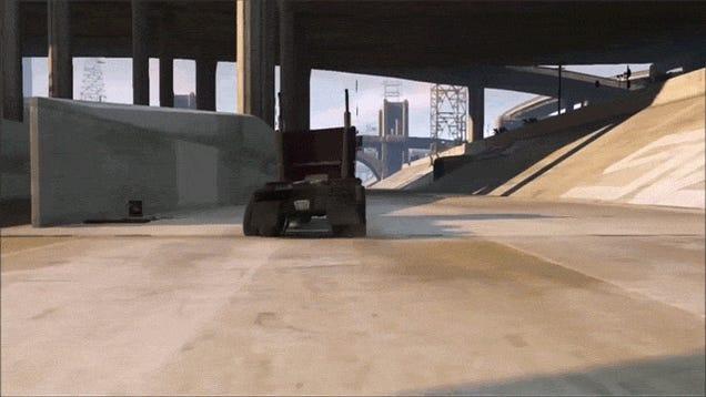 Terminator 2's Truck Chase Scene, Remade in GTA V