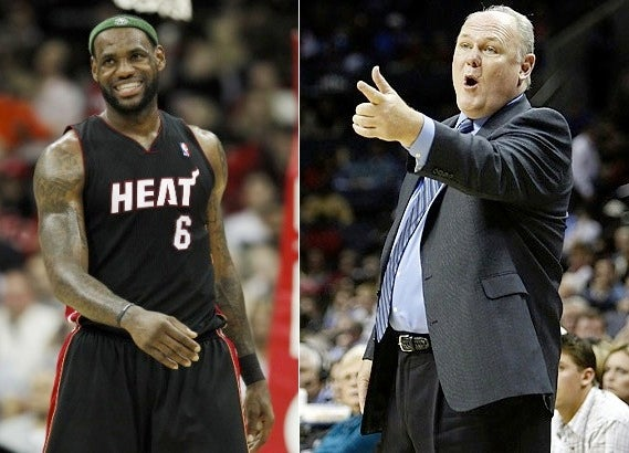 "George Karl Says ""There's No Question"" LeBron Is Going To Win A Title"