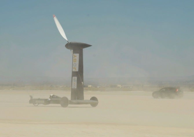 This Wind-Powered Cart Is Actually Faster Than The Wind