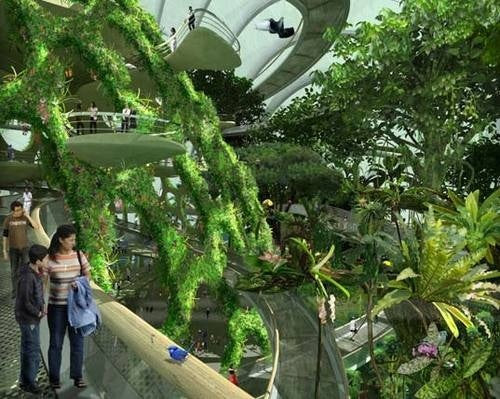 Singpore Plans its Own Version of Pandora on Earth