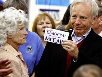 Joe Lieberman Will Fight To the Death for Rich-People Tax Cuts