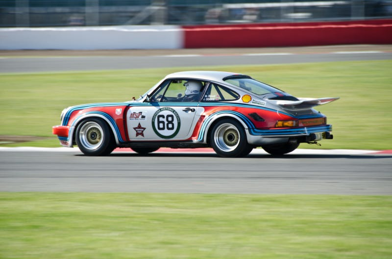 All the sexy retro cars from this year's Silverstone Classic
