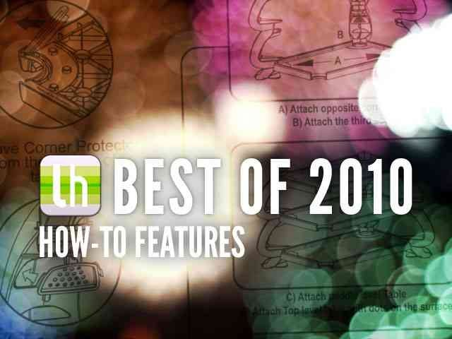 Most Popular How-To Guides of 2010