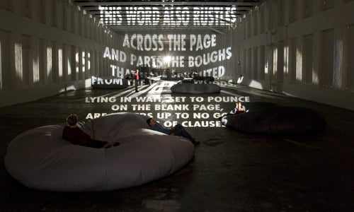 Jenny Holzer's Textual Structures