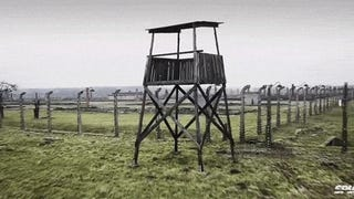 Video: Flyover drone footage of Auschwitz concentration camp is haunting
