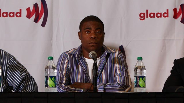"Tracy Morgan Smooths Over Homophobia Controversy By Joking About ""Retarded Kids"""