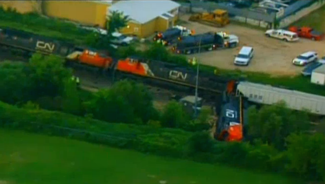 Over 100 Evacuated After Train Collision in Wisconsin
