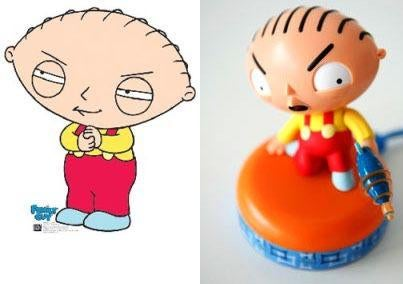 USB Stewie Doesn't Look Anything like Him, Wastes USB Port