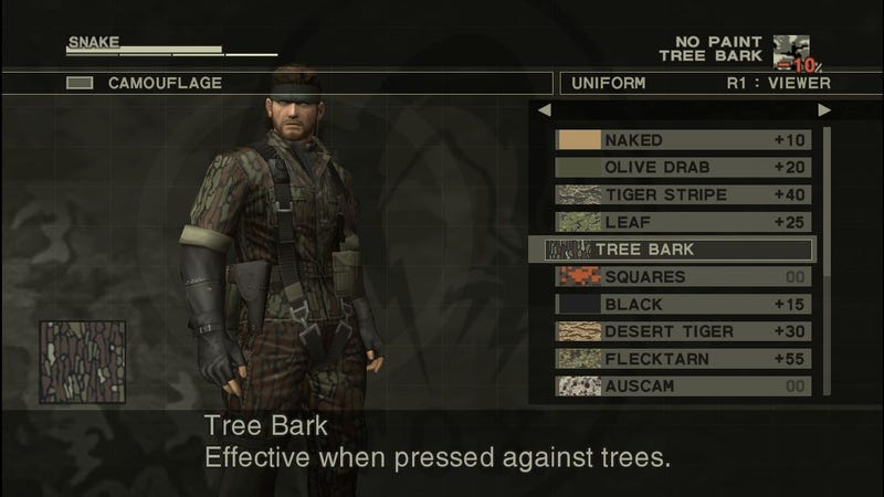 New Metal Gear Solid HD Collection Screens Confirm That Yes, Even Menus Will Be Upscaled For Your Giant TV