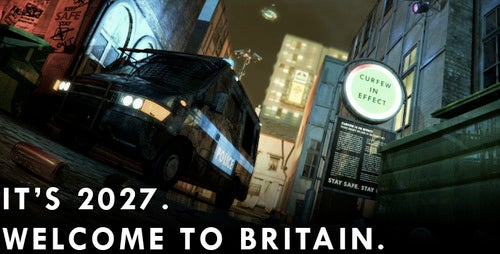 The Curfew, an interactive story about a dystopian UK, is now online