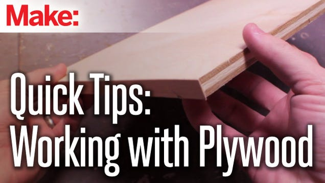 Make Plywood Look Like Solid Wood with Some Edge Banding – Steve