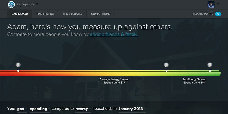 MyEnergy Measures Your Utility Usage Against Others to Find Out If You're Paying Too Much