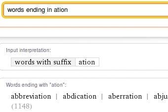 Use Wolfram Alpha as a Writing Tool
