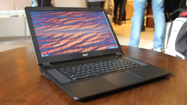 Acer Chromebook 15 Hands-On: Super Solid Big Screen Browsing For $250