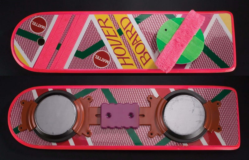 Back to the Future Hoverboard Auction Starts at $30,000