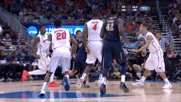 Patric Young Baits Pittsburgh Into Vicious Block