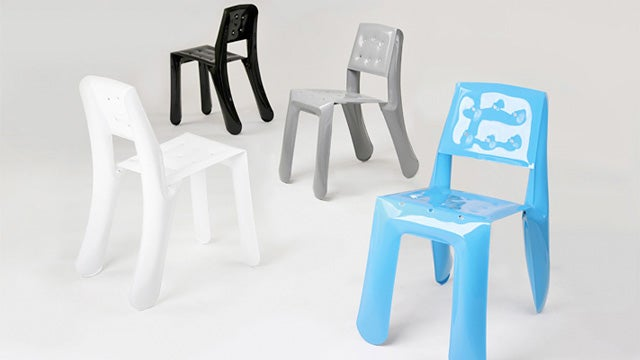 There Is No Risk Of Popping This Inflatable Steel Furniture