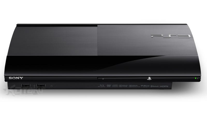 Sony Unveils a Brand New Model of the PS3 [Update: Now With Official Pics]