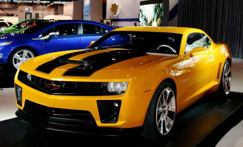 Quot Bumblebee Quot Chevy Camaro Available To Order Starting June 1st