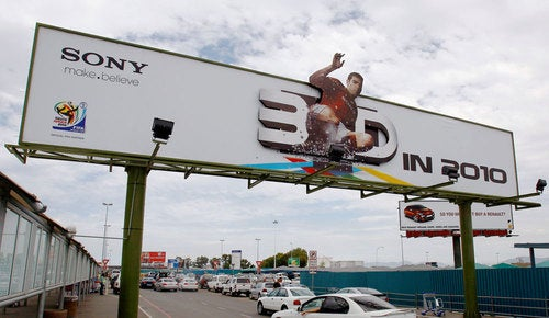 3D Ads From Sony, Gillette and Pixar To Air During ESPN's World Cup Broadcast