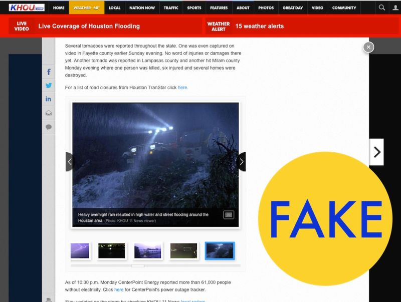 76 Viral Images From 2015 That Were Totally Fake