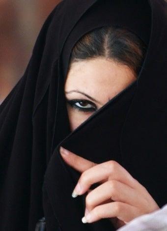 Saudi Woman Beats Up Virtue Cop