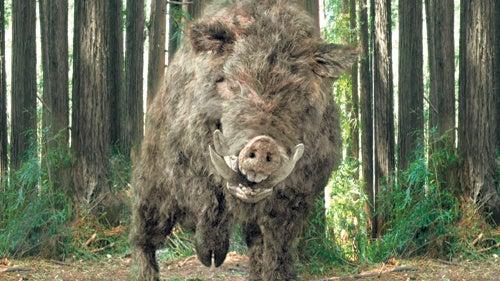 "Korean Pig Monster Movie ""Chaw"" Goes Splatstick"