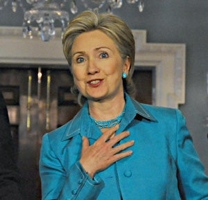 Mildly-Hurt Madame Hillary Wants Obama To Get Harsher On Iran