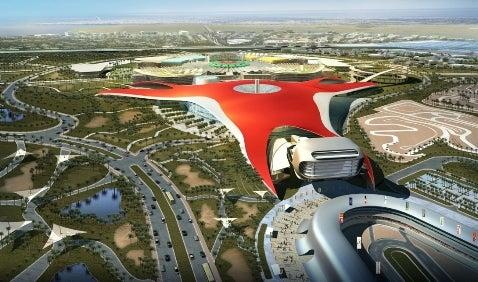 Ferrari Theme Park Breaks Ground in Abu Dhabi