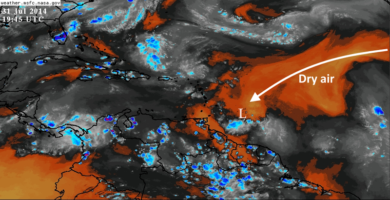 Why Isn't This Swirling Low in the Atlantic a Tropical Storm?