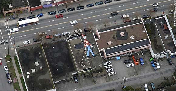 Where's Waldo? Available to Play on Google Earth