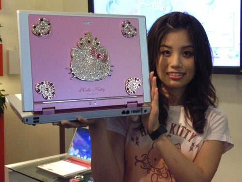 NEC Goes Hello Kitty on us with LaVie G Laptop