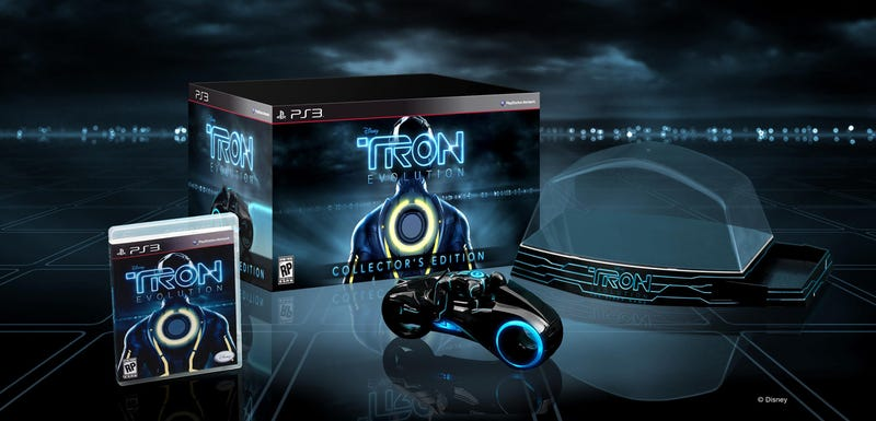 There's A Light Cycle In Every Collector's Edition Of Tron: Evolution