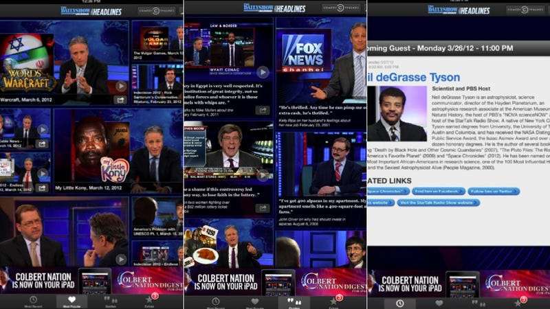 National Geographic, The Daily Show, and More