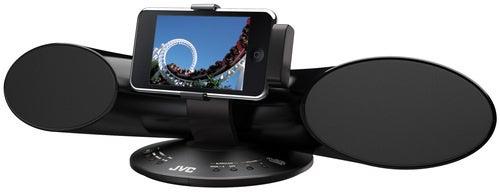 New JVC XS-SR3 Dock Gets Your iPod Horizontal