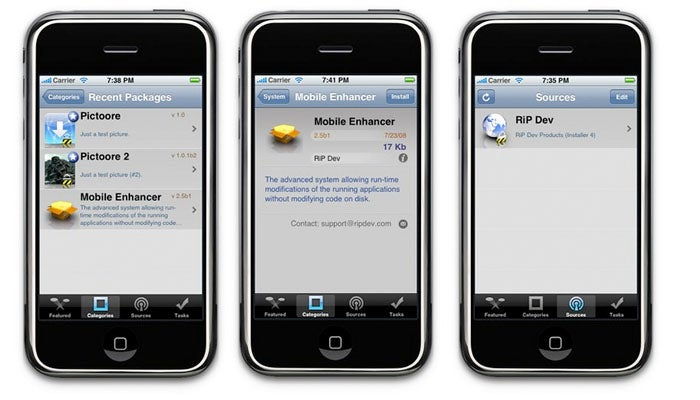 Next Version of Installer.app For iPhone 2.0 Software Looks Like It's Getting Close