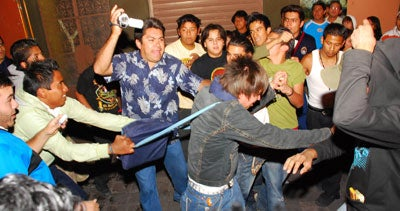 Anti-Emo Riots in Mexico, Caught on Tape!