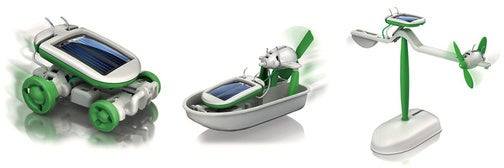 Transforming Solar Powered Thingamajig Is Six Toys in One