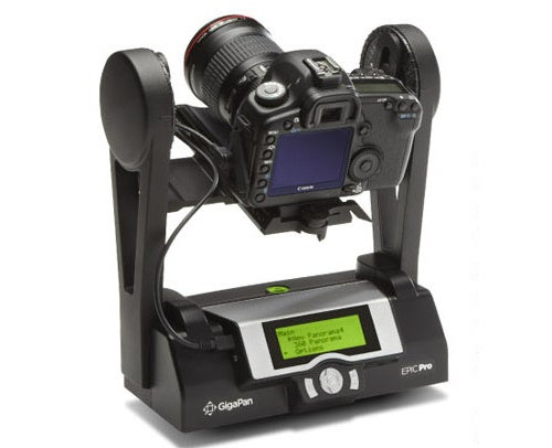 GigaPan Epic Pro Gives Your DSLR Full Panoramic Power