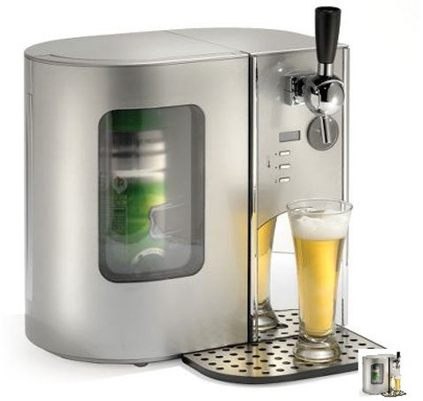 Countertop Beer Cooler and Tap, Just in Time for Labor Day