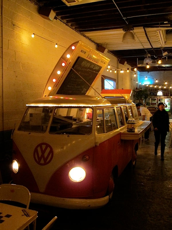 In New York, The Taco Trucks Park Indoors