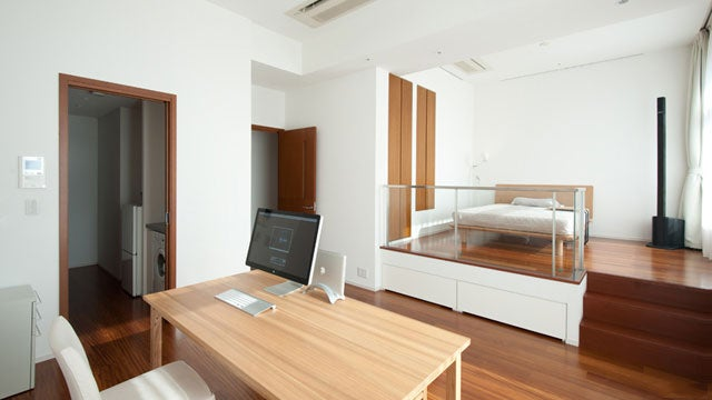 The Simple Wooden Tokyo Home Office