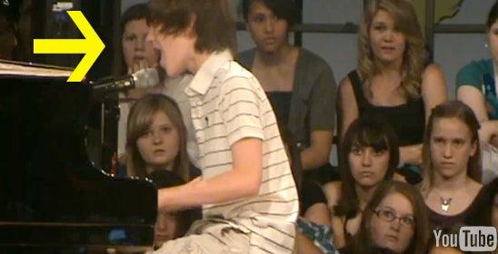 Sixth-Grade Boy Captivates Girls By Singing Lady Gaga