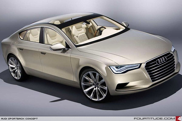 More Audi Sportback Concept Shots Leak, Reveal Interior Hotness